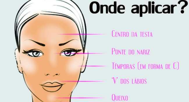 c3a1reas-do-rosto-para-aplicac3a7c3a3o-do-iluminador