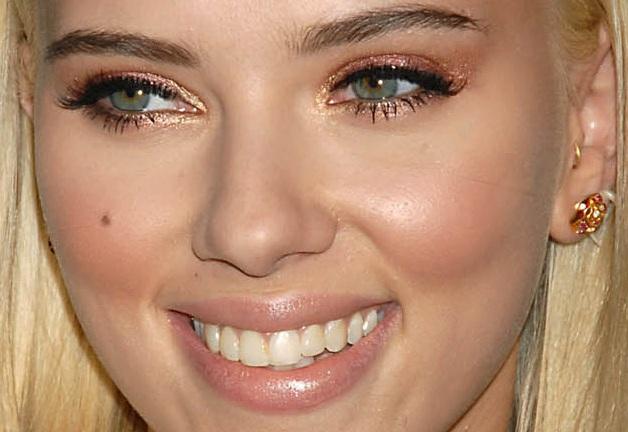 Maquiagem - Sombra Dourada Scarlet Johansson